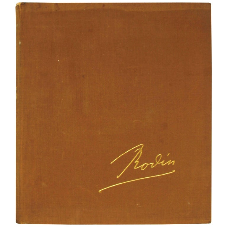 Rodin by Robert Descharnes and Jean-François Chabrun, First Edition For Sale