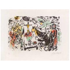 Marc Chagall, L'Artiste et Thèmes Bibliques, Saint Paul, 1974
