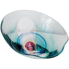 Kit Karbler & Rudenko Blake Street Contemporary American Art Glass Sculpture
