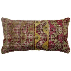 Ghiordes Bolster Rug Pillow