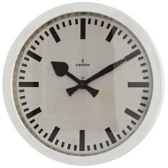 Very Big Industrial, Station, Factory Siemens Clock