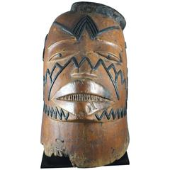 Makonde Mask, Tanzania East Africa, Early 20th Century