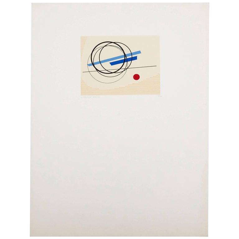 Luigi Veronesi Serigraph, 1976