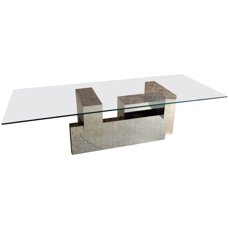 Paul Evans Cityscape Dining Table, 1970s, Model-PE631, Mid-Century