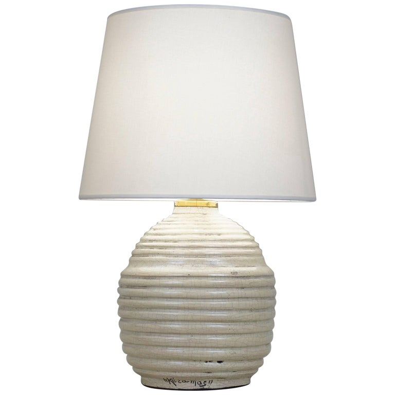 Keramos Crackled Ceramic Table Lamp