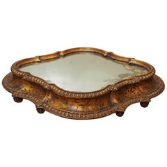Italian Surtout de table of Giltwood with Chinoiserie Decoration