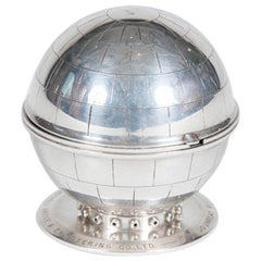 1950s Table Lighter Depicting the Dounreay Reactor Sphere