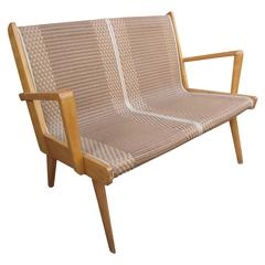 Mid-Century French Bench