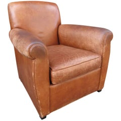 Coach for Baker Leather Club Chair