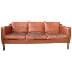 Scandinavian Modern Sofa, Manner of Børge Mogensen