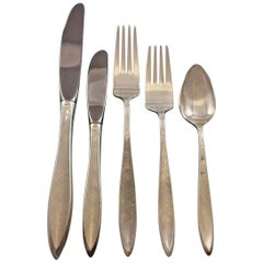 Gossamer by Gorham Sterling Silver Flatware Set for 8 Service 46 pieces