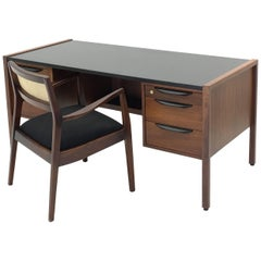 Bold Executive Desk and Chair by Jens Risom