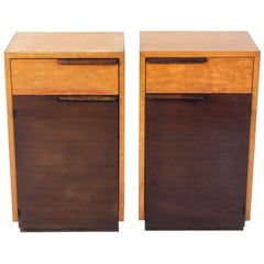 Pair of Art Deco Nightstands by Gilbert Rohde