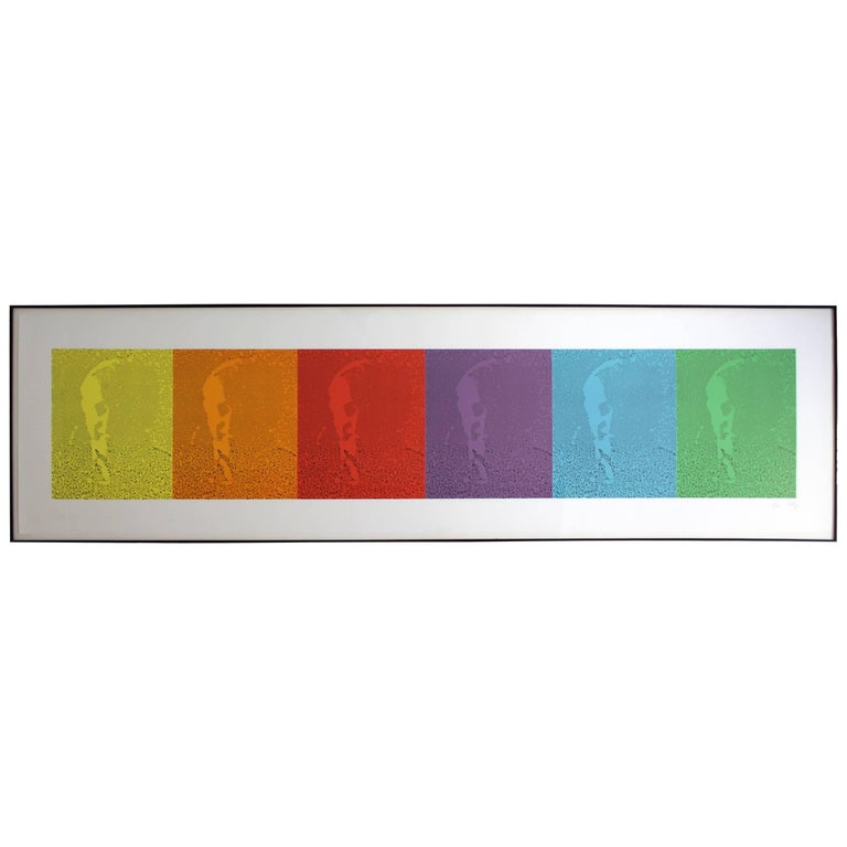 Ek/Spectrum I by Ellsworth Kelly 12 Color Lithograph