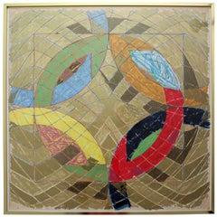 Polar Co-ordinates VI, 1980, Lithograph by Frank Stella