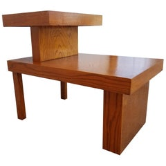 Step End Table Manner of Paul Frankl