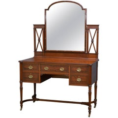 Edwardian Dressing Table by Shapland and Petter