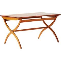 Ole Wanscher Cross Leg Table, circa 1951