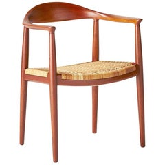 "Hans Wegner JH-501 ""The Chair,"" circa 1949"