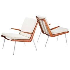 Peter Hvidt & Orla Mølgaard-Nielsen Boomerang Chairs, circa 1956