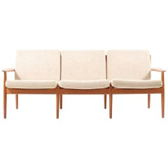 Mid-Century Danish Sofa in Teak by Arne Vodder, 1960s