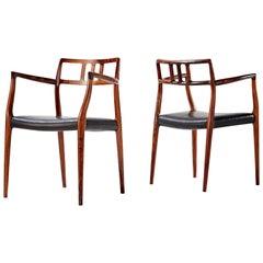 Niels Moller Model 64 Chairs, circa 1966