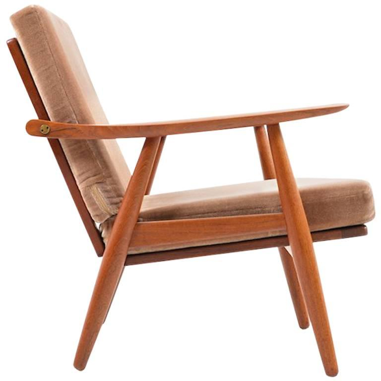 Early GE-270 Easy Chair by Hans J. Wegner, 1950s For Sale