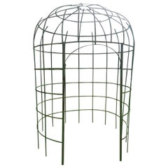 French 19th Century Handmade Wrought Iron Gloriette or Gazebo
