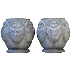 Art Deco Pair of Planters France, circa 1920s