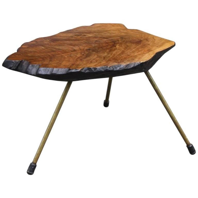 Carl Aubock Tree Trunk Coffee Table at 1stdibs