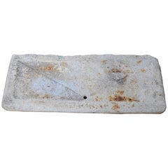 Italian 18th Century Outdoor Granite Sink Originally from a Garden