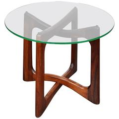 Adrian Pearsall for Craft Associates Walnut Side Table