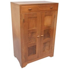 COTSWOLD Arts And Crafts Walnut Cabinet