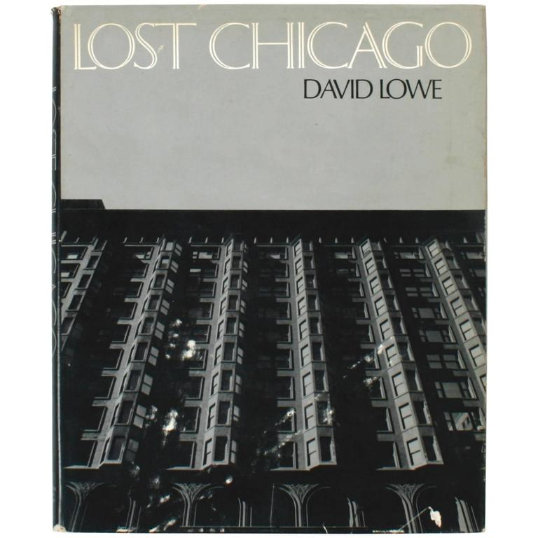 Lost Chicago by  David Lowe, 1st Edition For Sale