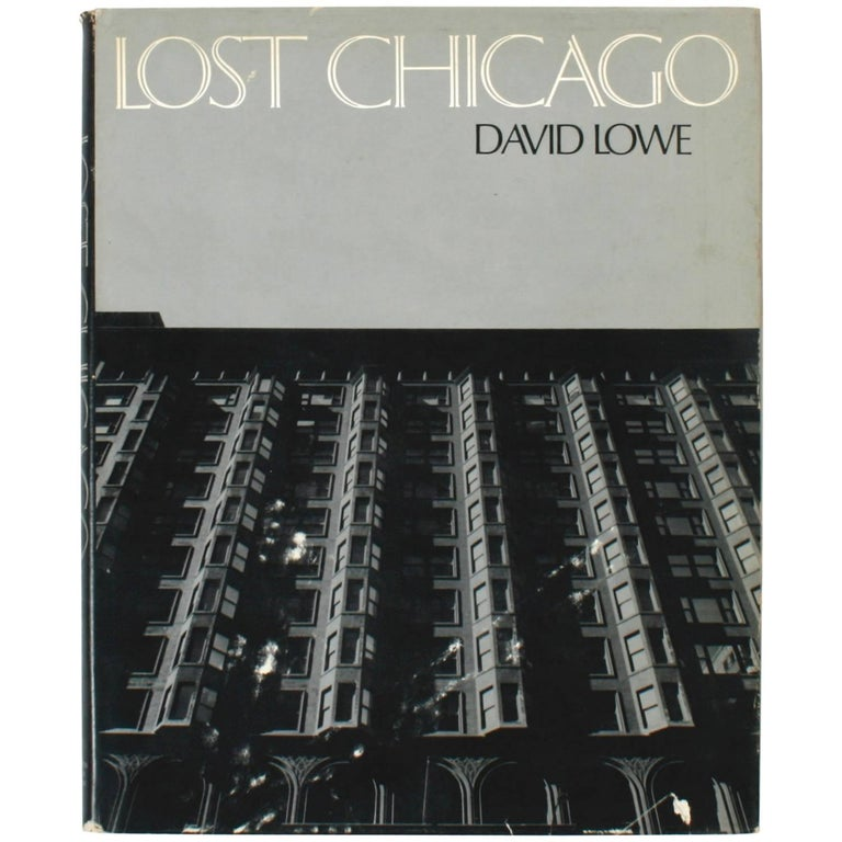 Lost Chicago by  David Lowe, Book, 1st Edition