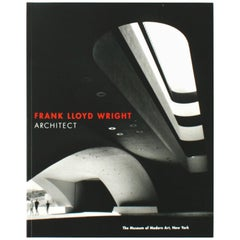 """Frank Lloyd Wright: Architect"" Book by Frank Lloyd Wright, First Edition"