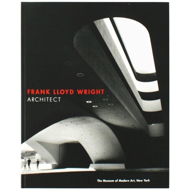 """""""Frank Lloyd Wright: Architect"""" Book by Frank Lloyd Wright, First Edition"""