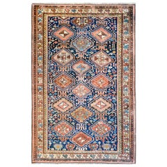 Amazing Late 19th Century Kuba Rug