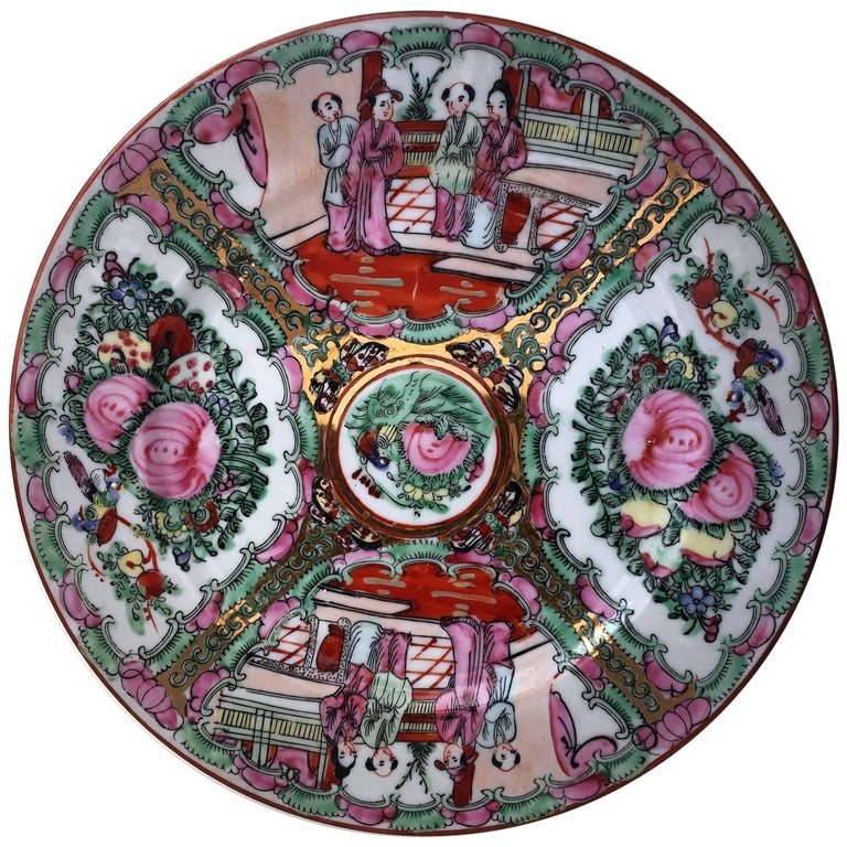 19th Century, Chinese Porcelain Plates For Sale