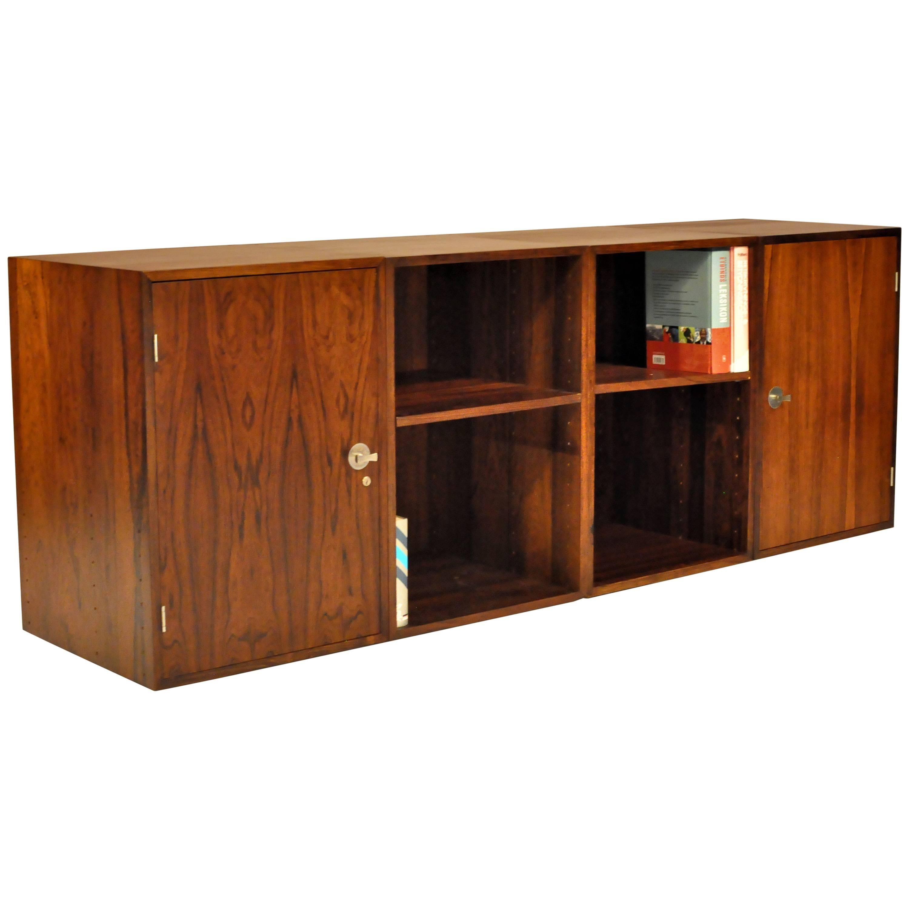1960s Finn Juhl Rosewood Diplomat Storage Cabinets and Book Cases