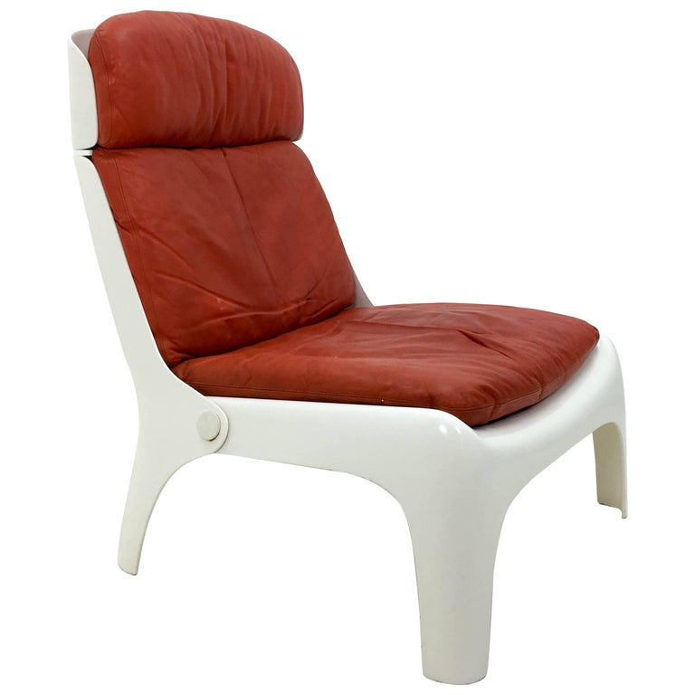 Futuristic 1970s Lounge Chair