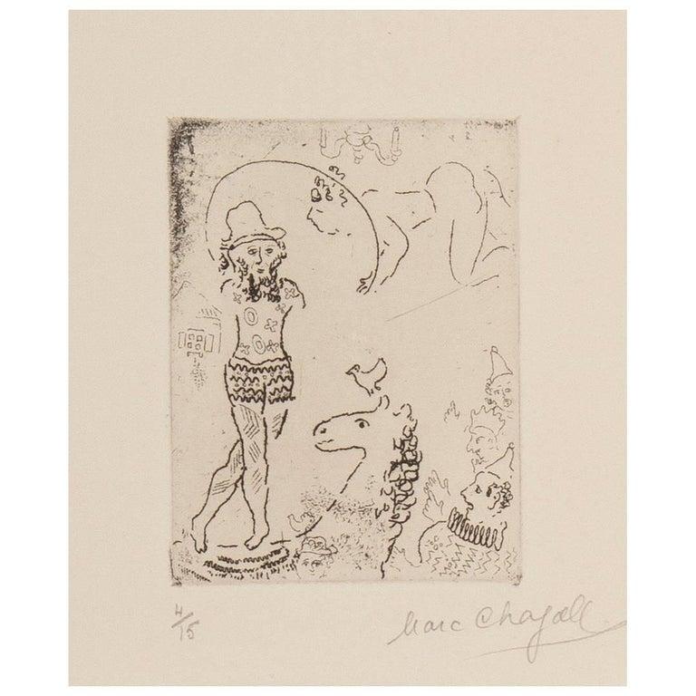 Marc Chagall, Dans le Cirque, Paris, 1944-1945