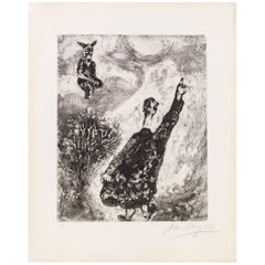 Marc Chagall, Le Charlatan from the Fables de La Fontaine, Paris, 1927-1930