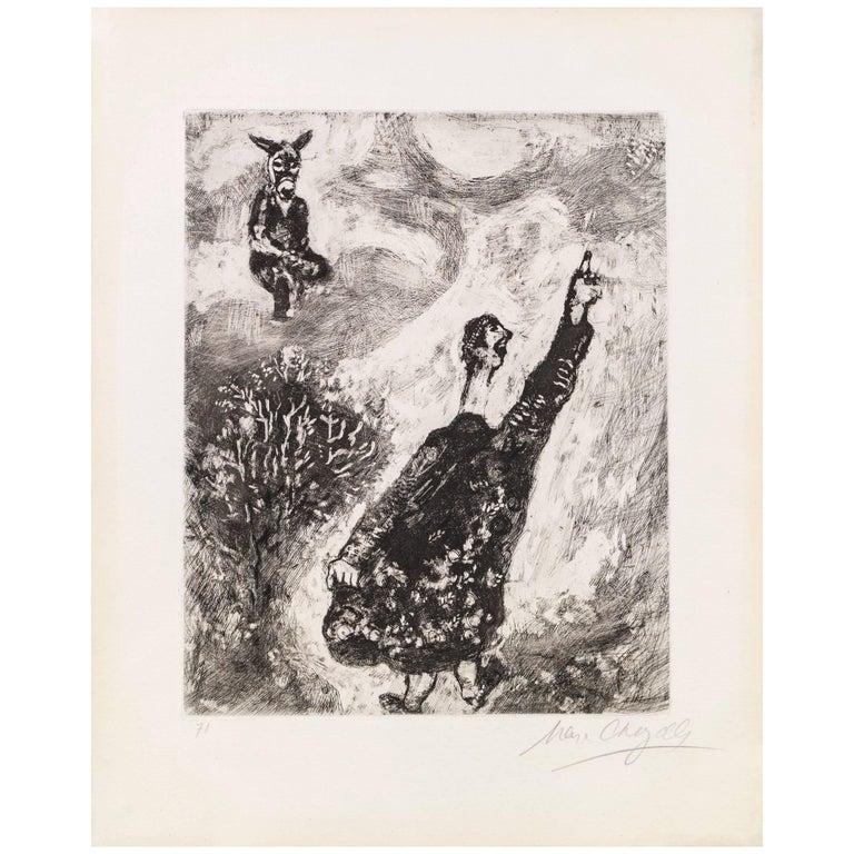 Marc Chagall, Le Charlatan from the Fables de La Fontaine, Paris, 1927-1930