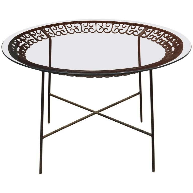 Arthur Umanoff for Shaver Howard Patio Table For Sale - Arthur Umanoff For Shaver Howard Patio Table For Sale At 1stdibs