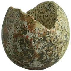 Unique Stoneware Sculptural Form