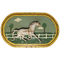 Curtis Jere Dimensional Horse Wall Plaque