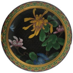 Chinese Cloisonné Bowl, ca. 1970s