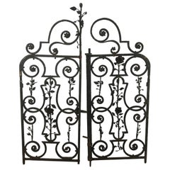 Arts & Crafts Decorative Wrought Iron Gates