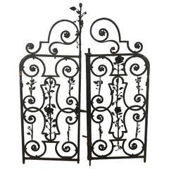 Arts & Crafts Decorative Wrought Iron Gates